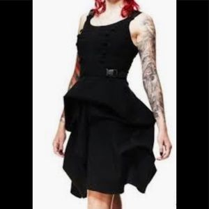 NWOT HELL BUNNY Steampunk Military Goth